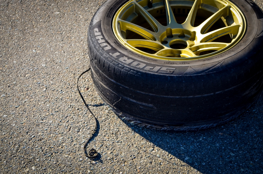 R.I.P. all of those poor tires those drift nuts burned...