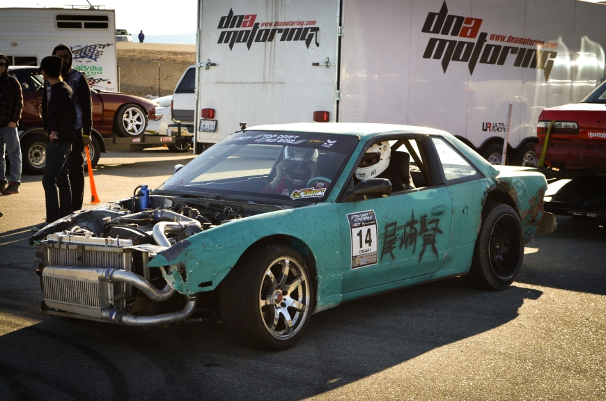 One of the poorest looking cars at the drift track but my favorite car of the weekend. I bet this drove like a dream!