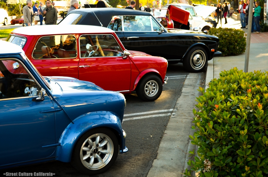 These classic Mini's were some of my favorite cars of the weekend (I have one myself). The Mini group, alhough very small, is a very friendly group.