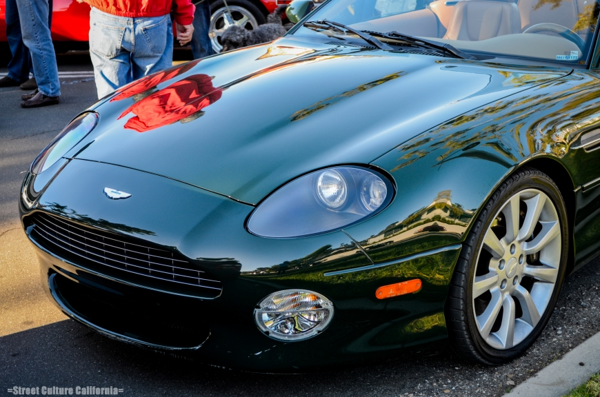 The Aston Martin DB7 is, I think, one of the best looking cars on the road. The next gen. Jag XKE, if you will.