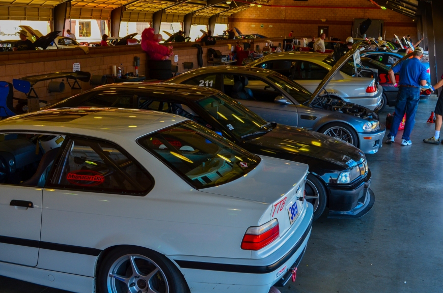 Literally this whole garage was full of M3's