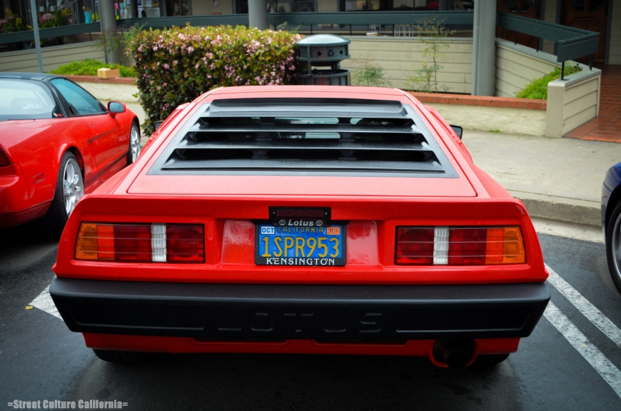 Another newer car coming to the Cars and Coffee is my fathers 86 Lotus Esprit HCI. Its looks are...unique to say the least.