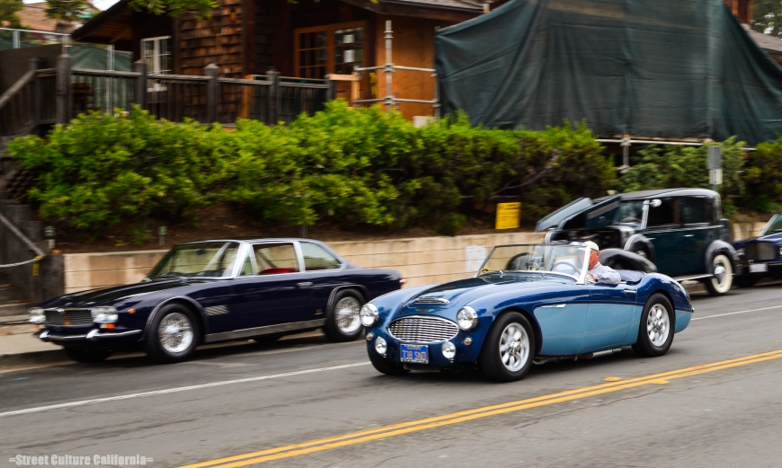 As the morning came to a close, and the Healey Club drove away, I couldnt help to wonder when I would see so many classic Brit cars in Montecito.