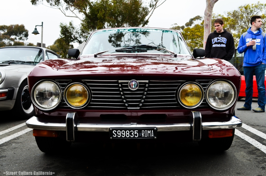 Along with some American muscle cars, there were also some Italian's there as well. This was, I believe, an Alfa GTV, and it was in amazing condition.