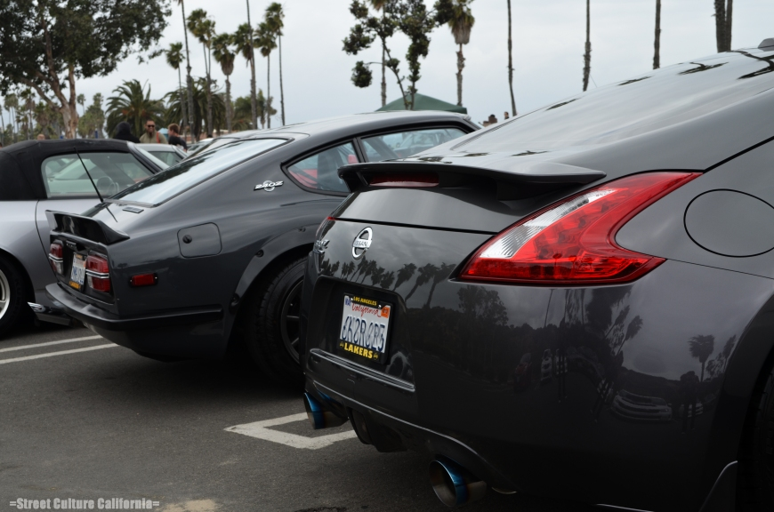 Parked next to it was a 370z