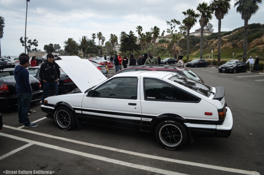 Another gem that showed up was a car straight from Initial D: a sexy AE86.