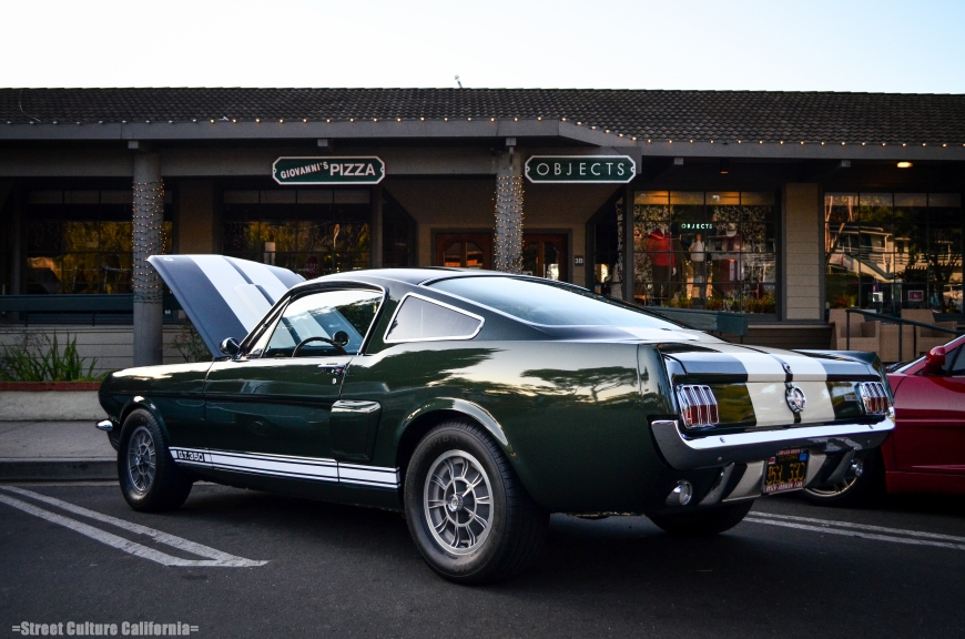 There are many cars that are always at the C&C meets like this Mustang GT350