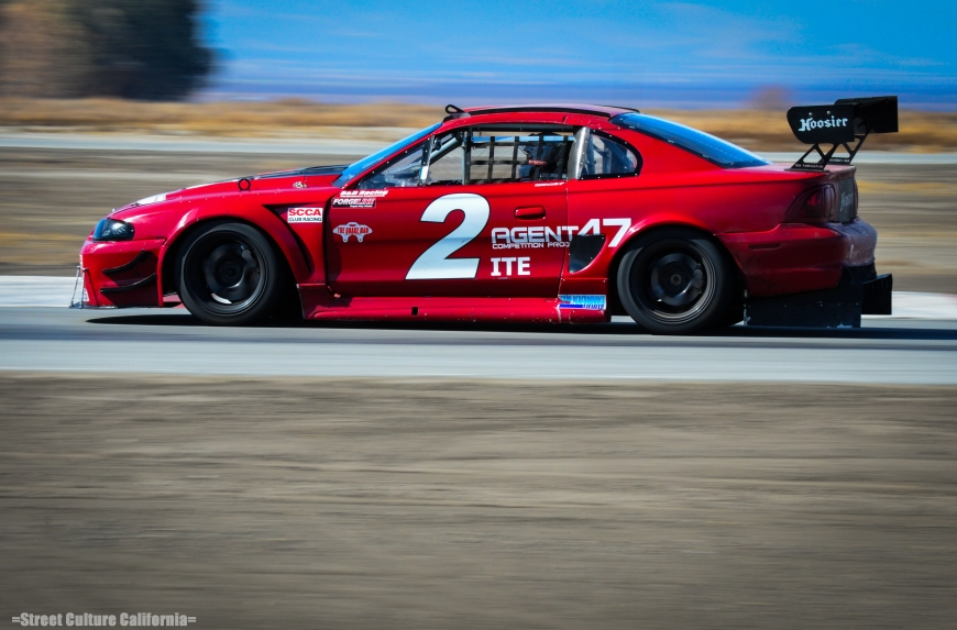 This Mustang was undoubtedly the meanest sounding thing at the track this weekend.