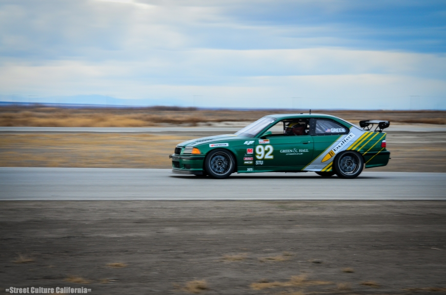 There were some amazing looking cars on the track, including this turbo BMW owned and driven by Mr.Green.