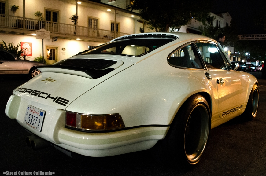 Even more car spotting was done later that evening with a SINGER PORSCHE. This car topped everything else I saw.