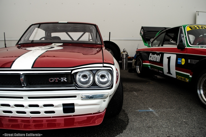 The fog soon burned off and I roamed around the paddocks. This R30 GTR immediately caught my eye.